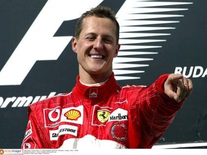 Michael Schumacher ganó siete títulos en la Fórmula 1 y cinco fueron a bordo de Ferrari (Action Images / John Marsh)