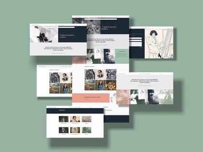 Un archivo virtual de artistas mujeres argentinas para investigar, preservar y difundir la vida y la obra de artistas plásticas argentinas desde el siglo XIX hasta hoy
