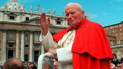 Juan Pablo II visitó Venezuela en dos oportunidades: 1985 y 1996 (AP)