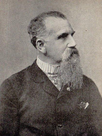 Lucio V. Mansilla, en la época que era coronel