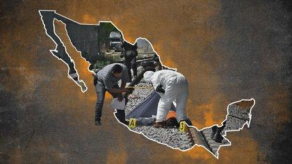 Guanajuato se mantiene como uno de los estados más peligrosos del país (Foto: Jovani Pérez/Infobae)