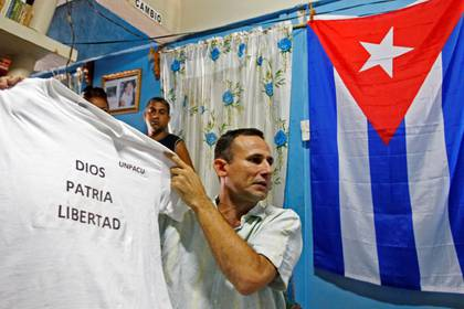 Foto de archivo del disidente cubano Jose Daniel Ferrer en Palmarito de Cauto, Cuba. Mar 25, 2012. REUTERS/Mariana Bazo