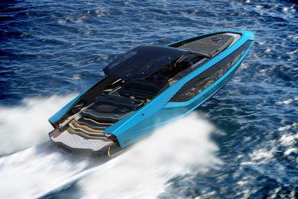El reciente proyecto de la marca italiana con dos compañía náuticas: una bestia de 2.000 caballos inspirada en el deportivo Sian.