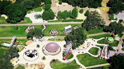 Una vista aérea del rancho californiano de Michael Jackson (The Pinnacle list)