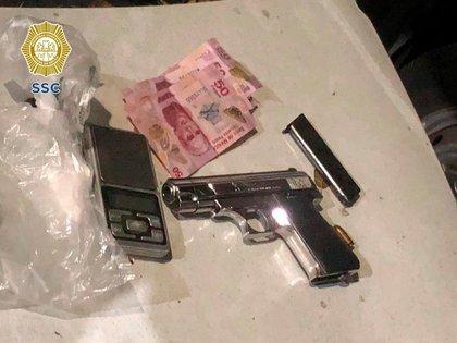 De acuerdo con la Secretaría de Seguridad Ciudadana (SSC), La Chofis fue detenida en posesión de cocaína (Foto: SSC)
