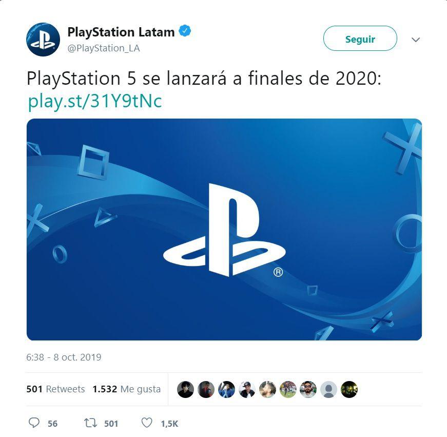 La compañía publicó en Twitter la fecha de lanzamiento de la nueva consola.