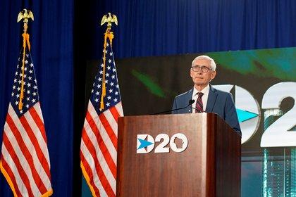 Tony Evers, gobernador demócrata del estado Wisconsin (Melina Mara/Pool via REUTERS)