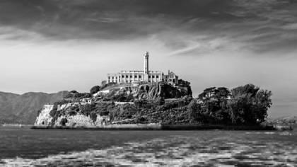 La cárcel de Alcatraz, en San Francisco, donde Whitaker estuvo preso junto a Al Capone.