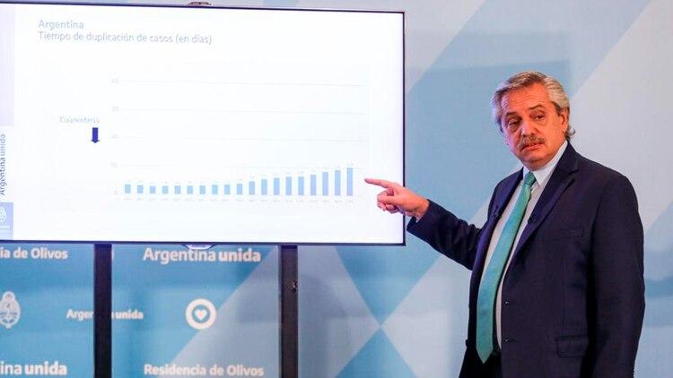 Coronavirus en la Argentina: Alberto Fernández analiza extender la ...