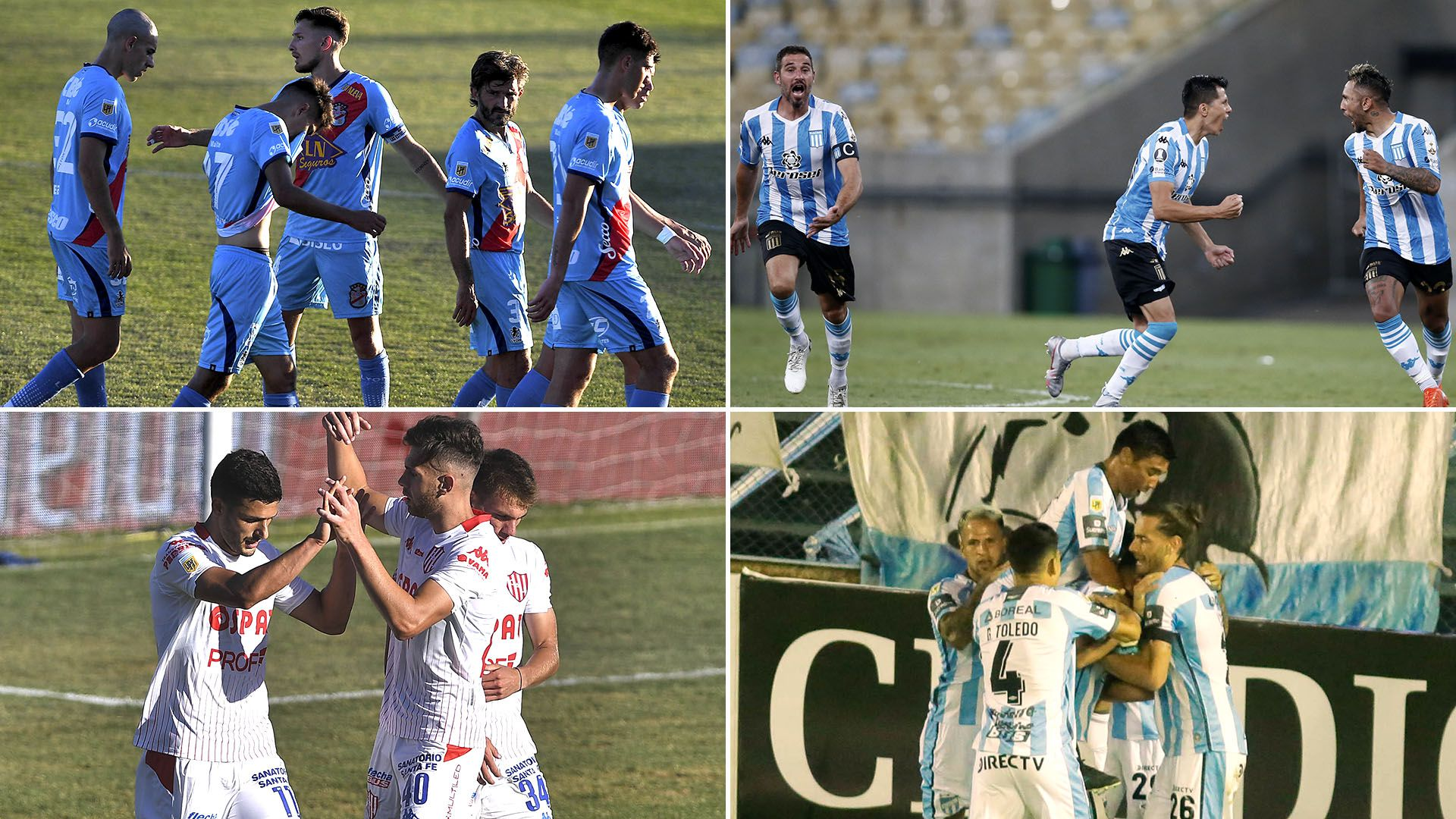 previas Arsenal-Racing y Union-Atletico Tucuman