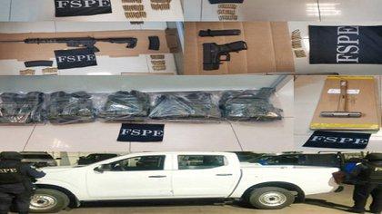 Guanajuato - Decomisan armas y municiones tras denuncia en Guanajuato 7Z2AKQCM5VHWJFNJDGZ7FOEFKU