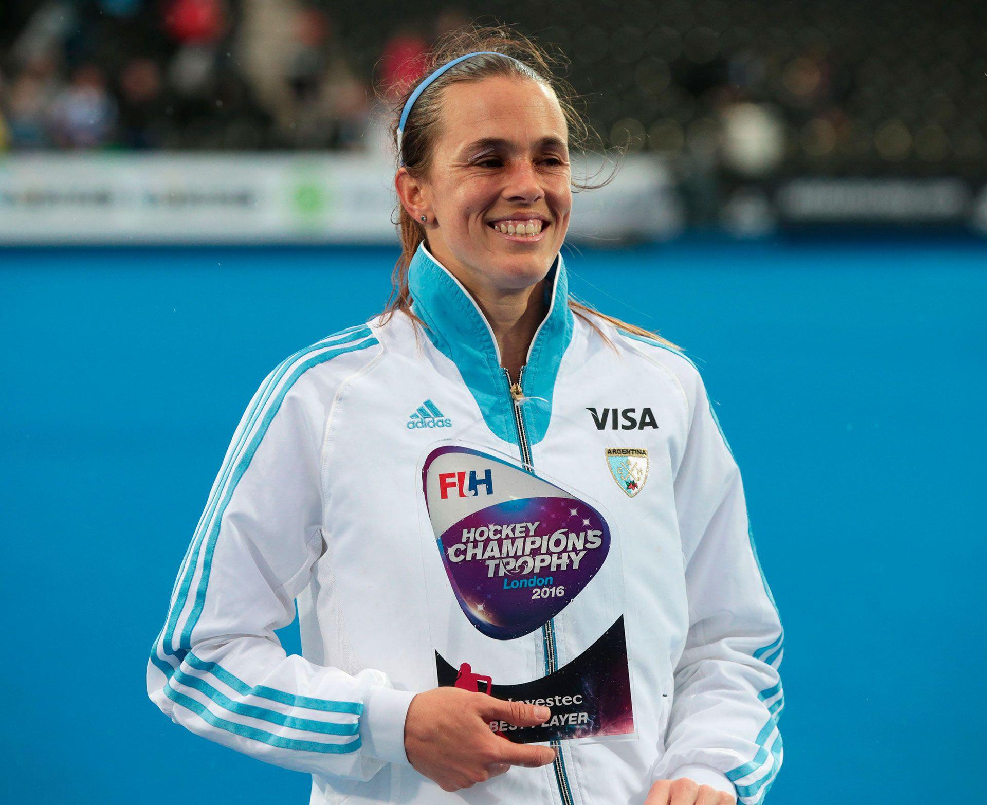 Carla Rebecchi fue medalla de plata y bronce con Las Leonas (Shutterstock)