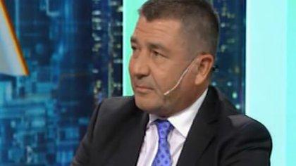 El jefe de la Policía Federal, Néstor Roncaglia