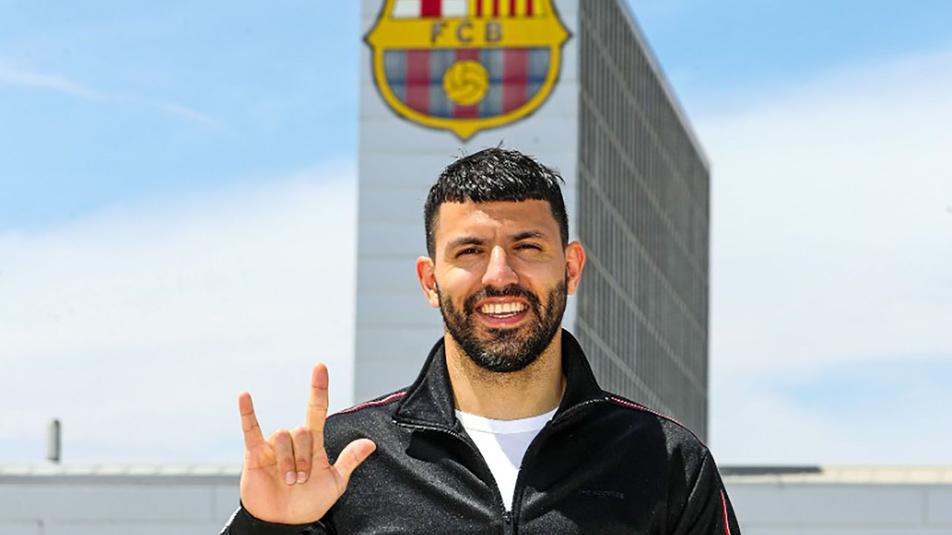 Kun Aguero Barcelona