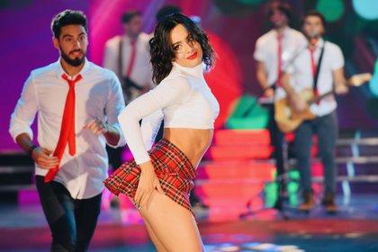En su debut en el Bailando 2019, Flor y Nico hicieron una coreografía de Agapornis (Crédito: prensa LaFlia/Negro Luengo)