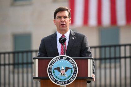 Ahora el ex secretario de Defensa Mark Esper.  Foto: REUTERS / Erin Scott