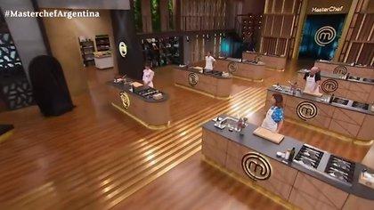 Masterchef Celebrity activó el protocolo por contacto estrecho (Captura de pantalla: Telefé)