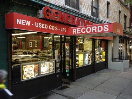 Esta popular disquería se destaca por sus títulos de punk, hardcore y heavy metal de los '80 y '90 (Flickr)