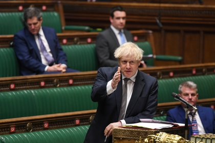 La aprobación del acuerdo no debería, presentar grandes dificultades a raíz de la mayoría conservadora que apoya a Johnson (Parlamento británico/Jessica Taylor via REUTERS)