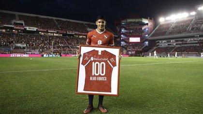 El defensor tiene más de 100 partidos ya con la camiseta de Independiente