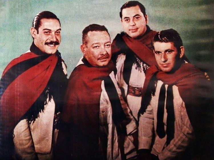 Víctor Jose Zambrano, Ricardo Federico Dávalos, Juan Carlos Saravia y Ernesto Cabeza