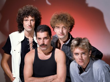 Members Brian May, Roger Taylor, Freddie Mercury and John Deacon of band Queen pose in this undated picture obtained by Reuters on January 17, 2020. Courtesy of Queen Productions LTD/via REUTERS THIS IMAGE HAS BEEN SUPPLIED BY A THIRD PARTY. MANDATORY CREDIT. NO RESALES. NO ARCHIVES.