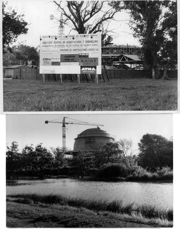 El edificio se comenzó a construir en 1962 y demandó 5 años de trabajo