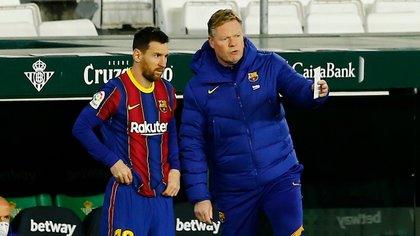 Ronald Koeman ha formato un buon legame con Lionel Messi