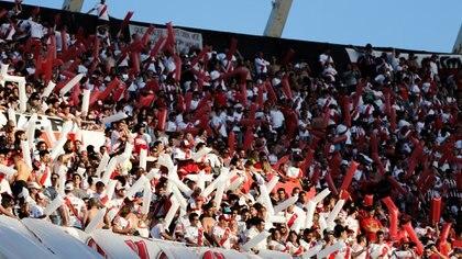 Miles de hinchas asistieron el 24 de noviembre al Monumental (Nicolás Aboaf)