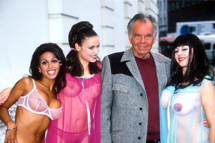El director de cine Russ Meyer en Londres en1999 (Foto:Shutterstock)