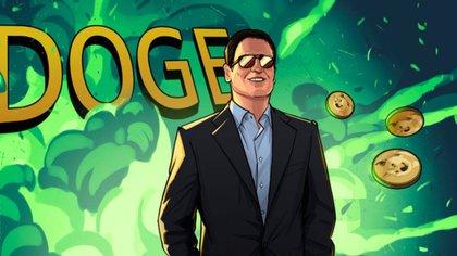 Mark Cuban apuesta al Dogecoin. (Cointelegraph.com)