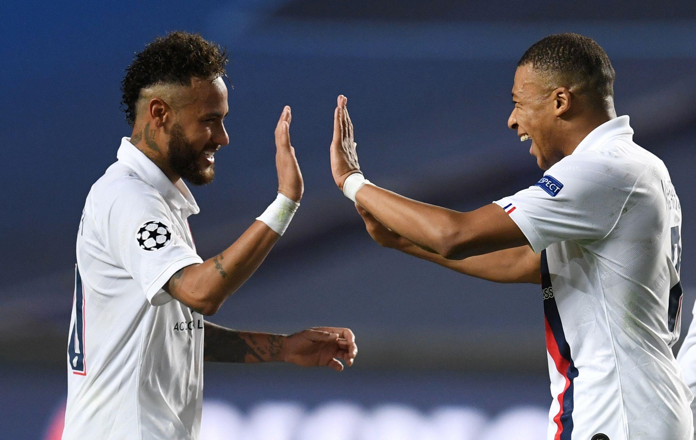 Neymar y Mbappe disputarán las semifinales en Lisboa -Reuters
