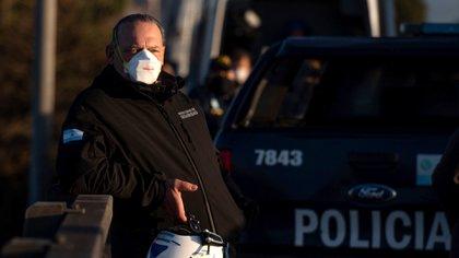 El ministro de Seguridad, Sergio Berni, ya preparó un dispositivo de 4.000 policías para llevar adelante el desalojo forzado. Adrián Escandar