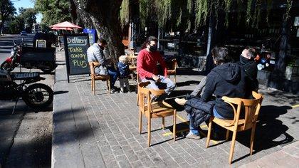 En provincia de Buenos Aires, San Isidro fue pionero en habilitar la gastronomía al aire libre (Maximiliano Luna)