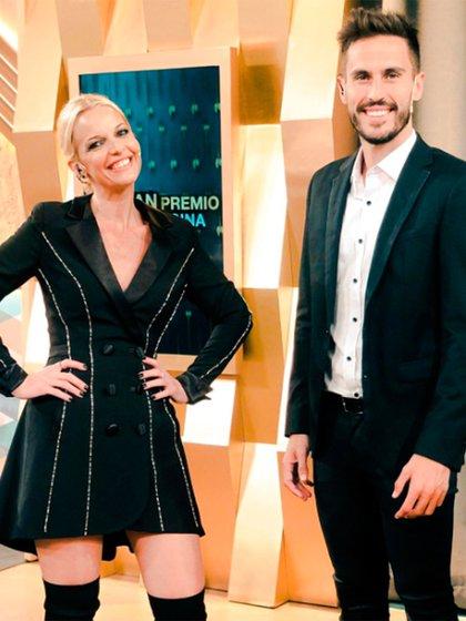 Carina Zampini y Juan Marconi, conductores del reality de cocina de El Trece