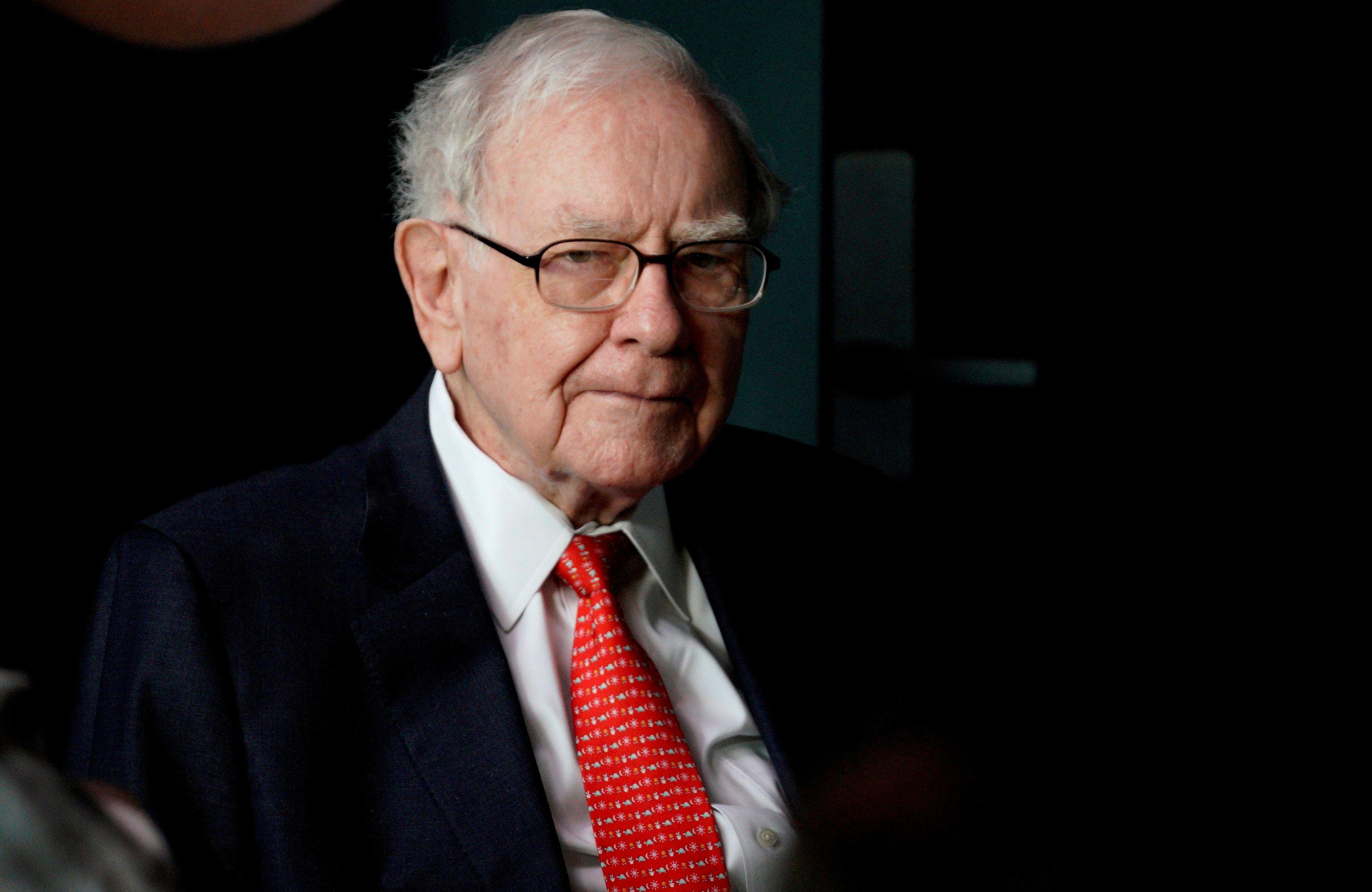 Warren Buffett. REUTERS/Rick Wilking/