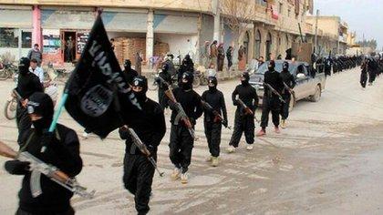 Combatientes del Estado Islámico, también con amplia presencia en la zona (AP)