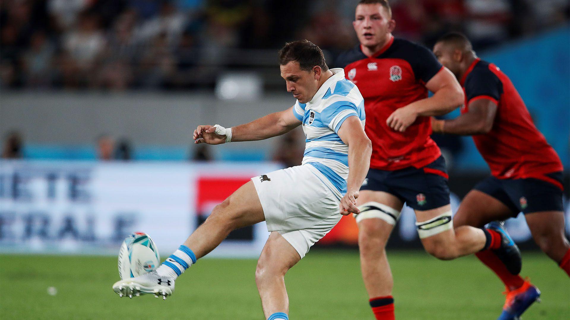 Los Pumas caen ante Inglaterra en Tokyo (Foto AFP)