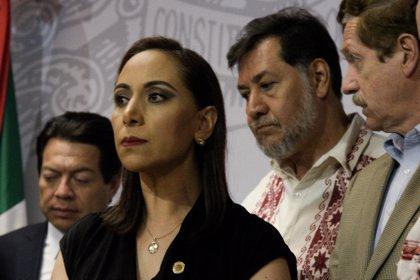 """El legislador ya ha sido tachado de misógino, en junio del año pasado, por ejemplo, fue público que ofendió a una mujer, a la que llamó """"bruta"""", por no entender (FOTO: MARIO JASSO /CUARTOSCURO.COM)"""