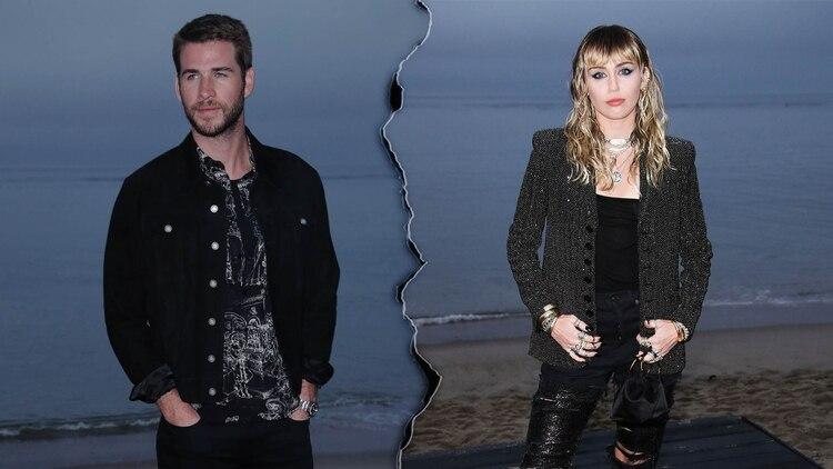 Cyrus y Liam se casaron en diciembre de 2018 y su ruptura se confirmó en agosto de 2019