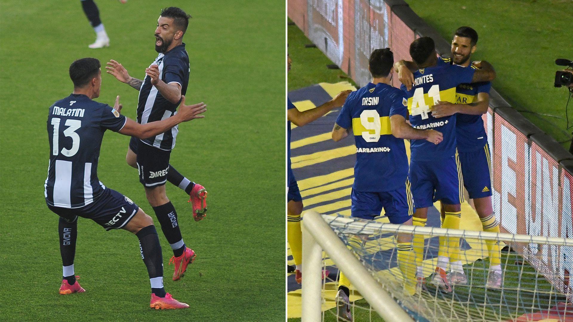 Foto partida - Talleres/Boca