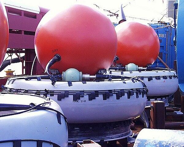 Los hidrófonos que son instalados en el fondo del océano (CTBTO)