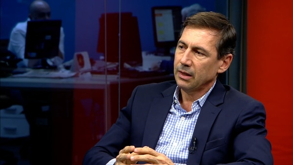 El senador por Formosa Luis Naidenoff