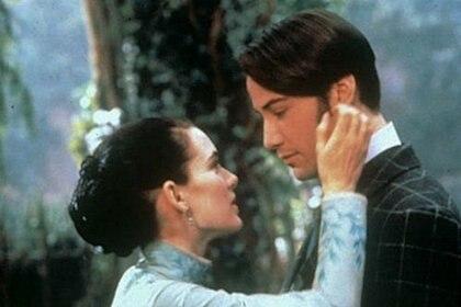 Winona Ryder y Keanu Reeves se casaron ante un cura real en el set de Drácula