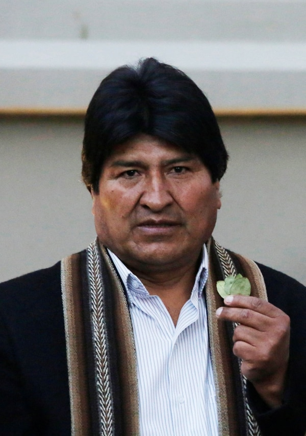 Evo Morales (REUTERS/David Mercado)