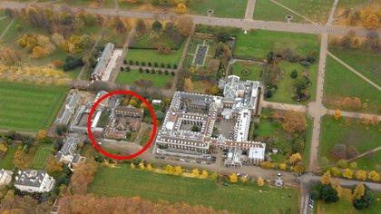 La casa de los Duques de Cambridge en el Palacio de Kensington (Shutterstock)