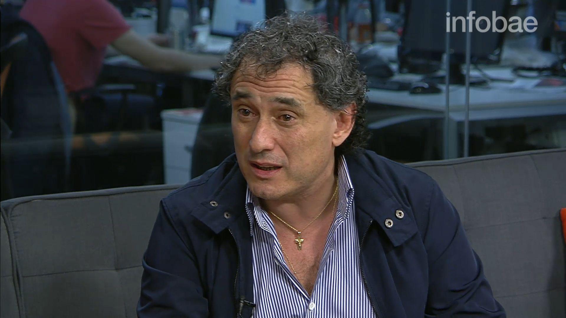 Sergio Sasia, secretario general de la Unión Ferroviaria