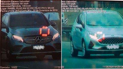 También subieron las infracciones por manejar con el celular o pasar en rojo