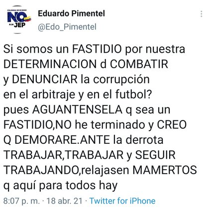 El equipo boyacense no pudo derrotar de local a Jaguares de Córdoba y sentenció su tercer descenso al Torneo Betplay. Foto: Twitter
