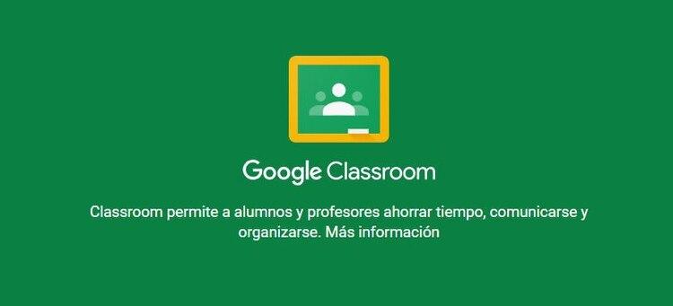 Google Classroom estuvo entre las herramientas educativas más utilizadas